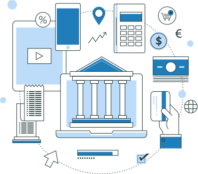 Digital bill management solution for banks and credit unions